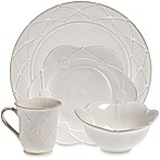 Meridian White Decorated Dinnerware Collection
