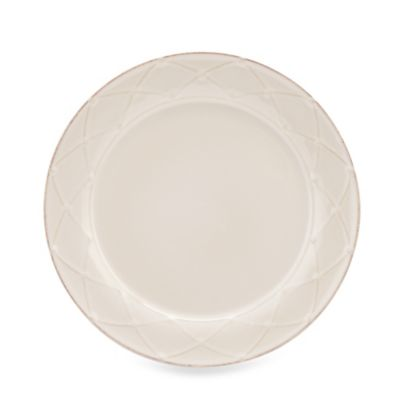 Meridian White 9.5-Inch Round Salad Plate