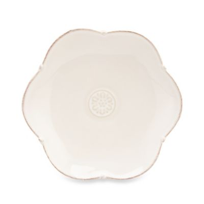 Meridian White 6.25-Inch Decorated Bread and Butter Plate