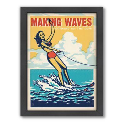 Americanflat Making Waves Digital Print Wall Art