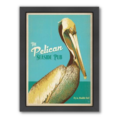 Americanflat Pelican Pub Digital Print Wall Art