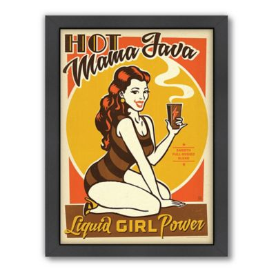 "Americanflat ""Hot Mama Java"" Digital Print Wall Art"