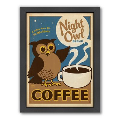 "Americanflat ""Night Owl"" Digital Print Wall Art"