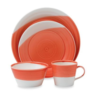 Royal Doulton® 1815 4-Piece Place Setting in Red