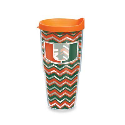 Tervis® University of Miami 24 oz. Chevron Wrap Tumbler with Lid