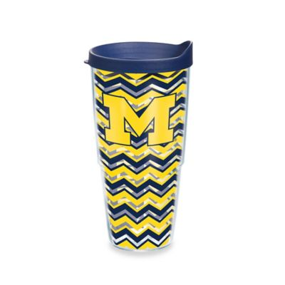Tervis® University of Michigan 24 oz. Chevron Wrap Tumbler with Lid