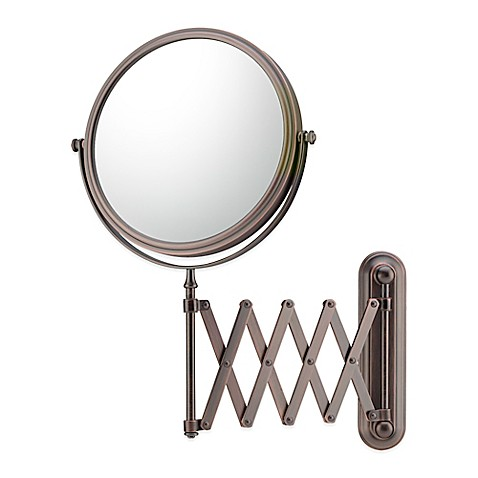 Buy 5x 1x Extension Arm Wall Mirror In Bronze From Bed