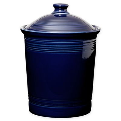 Fiesta® Large Canister in Cobalt Blue