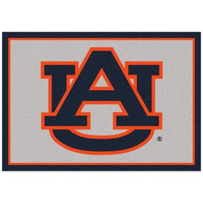 Auburn University 5-Foot 4-Inch x 7-Foot 8-Inch Medium Spirit Rug
