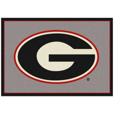 University of Georgia 5-Foot 4-Inch x 7-Foot 8-Inch Medium Spirit Rug