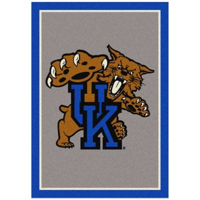 University of Kentucky 7-Foot 8-Inch x 10-Foot 9-Inch Large Fanatic Spirit Rug