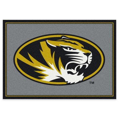 University of Missouri 3-Foot 10-Inch x 5-Foot 4-Inch Small Spirit Rug