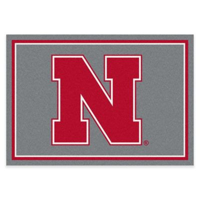University of Nebraska 2-Foot 8-Inch x 3-Foot 10-Inch Extra Small Spirit Rug