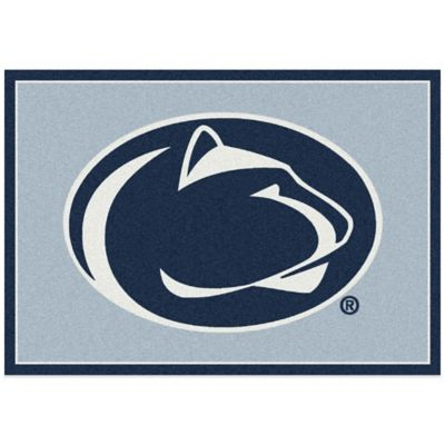 Penn State University 3-Foot 10-Inch x 5-Foot 4-Inch Small Spirit Rug