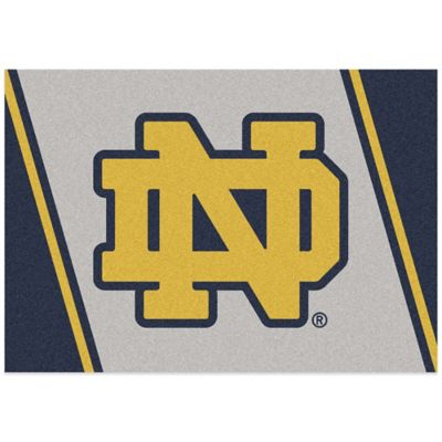 University of Notre Dame 7-Foot 8-Inch x 10-Foot 9-Inch Large Spirit Rug