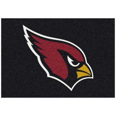 NFL Arizona Cardinals 3-Foot 10-Inch x 5-Foot 4-Inch Small Team Spirit Rug