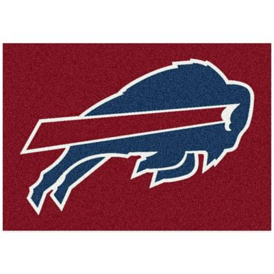 NFL Buffalo Bills 3-Foot 10-Inch x 5-Foot 4-Inch Small Team Spirit Rug
