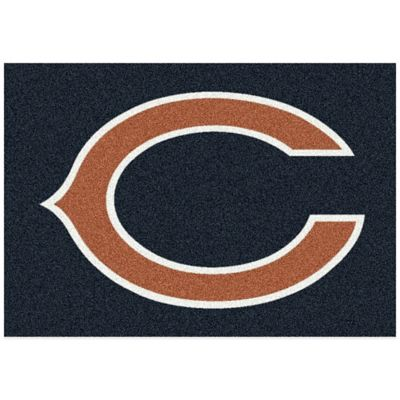 NFL Chicago Bears 2-Foot 8-Inch x 3-Foot 10-Inch Extra Small Team Spirit Rug