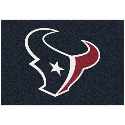 NFL Houston Texans 5-Foot 4-Inch x 7-Foot 8-Inch Medium Team Spirit Rug