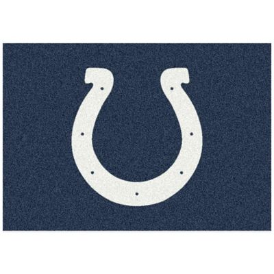 NFL Indianapolis Colts 2-Foot 8-Inch x 3-Foot 10-Inch Extra Small Team Spirit Rug