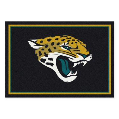 NFL Jacksonville Jaguars 2-Foot 8-Inch x 3-Foot 10-Inch Extra Small Team Spirit Rug
