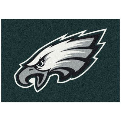NFL Philadelphia Eagles 3-Foot 10-Inch x 5-Foot 4-Inch Small Team Spirit Rug