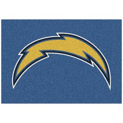 NFL San Diego Chargers 2-Foot 8-Inch x 3-Foot 10-Inch Extra Small Team Spirit Rug