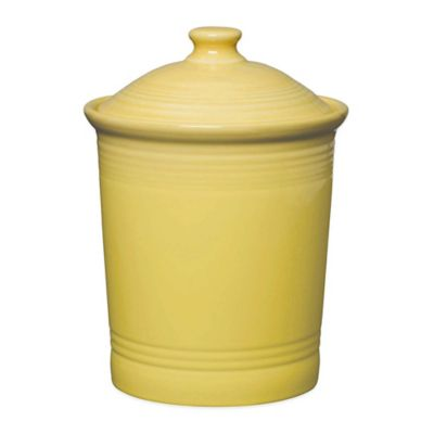 Fiesta® Large Canister in Sunflower
