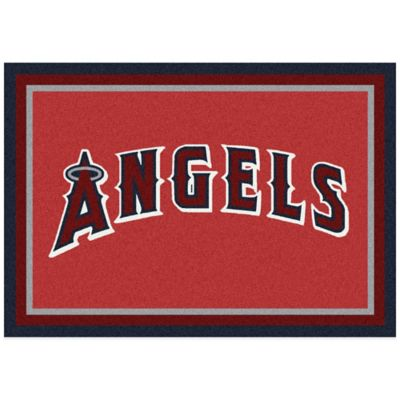 MLB Los Angeles Dodgers 5-Foot 4-Inch x 7-Foot 8-Inch Medium Spirit Rug