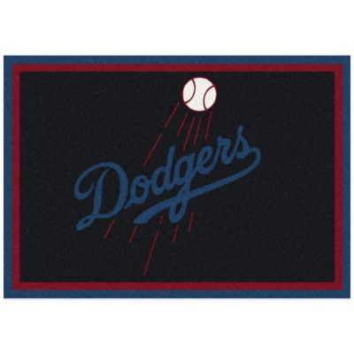 MLB Los Angeles Dodgers 3-Foot 10-Inch x 5-Foot 4-Inch Small Spirit Rug