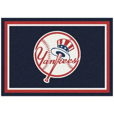 MLB New York Yankees 7-Foot 8-Inch x 10-Foot 9-Inch Large Spirit Rug
