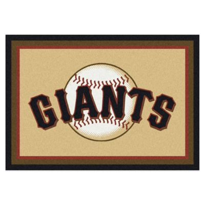 MLB San Francisco Giants 7-Foot 8-Inch x 10-Foot 9-Inch Large Spirit Rug