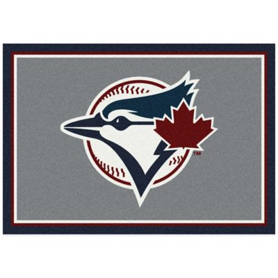 MLB Toronto Blue Jays 7-Foot 8-Inch x 10-Foot 9-Inch Large Spirit Rug