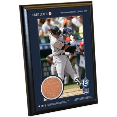 Steiner Derek Jeter Moments World Baseball Classic Small Plaque