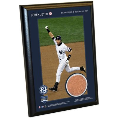 Steiner Derek Jeter Moments Mr. November Small Plaque