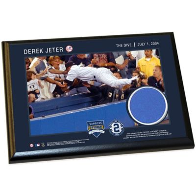 Steiner Derek Jeter Moments The Dive Small Plaque