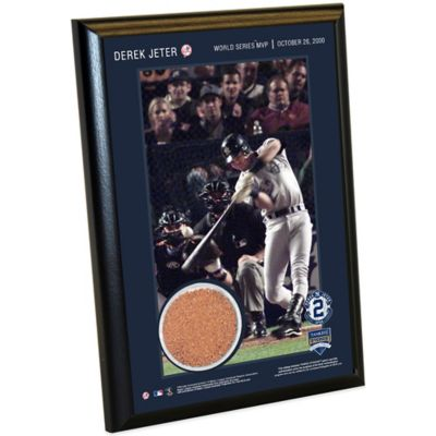 Steiner Derek Jeter Moments World Series MVP Small Plaque