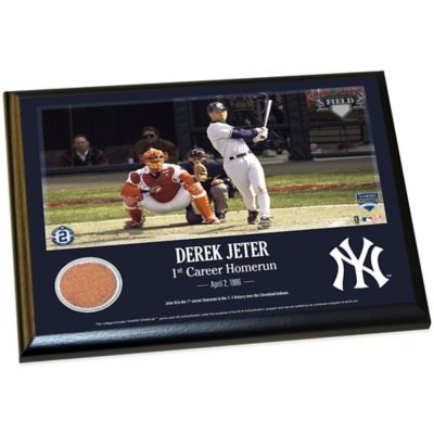 Derek Jeter Moments 1st Career Homerun Plaque