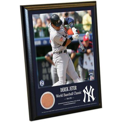 Steiner Derek Jeter Moments World Baseball Classic Plaque
