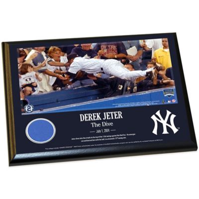 Derek Jeter Moments The Dive Plaque