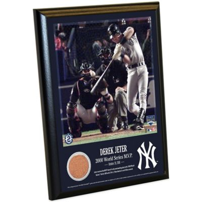 Derek Jeter Moments World Series MVP Plaque
