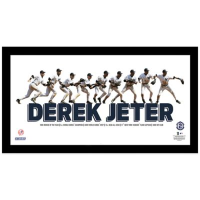 Derek Jeter Multi-Exposure Throw Frame