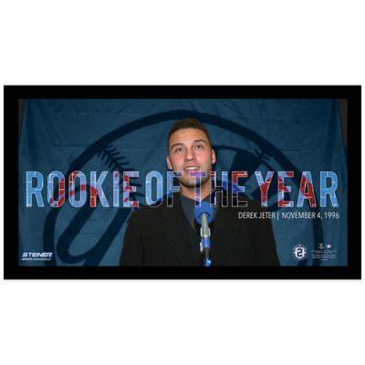 Steiner Derek Jeter Moments Rookie of The Year Mosaic Frame