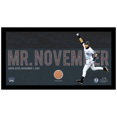 Steiner Derek Jeter Moments Mr. November Mosaic Frame