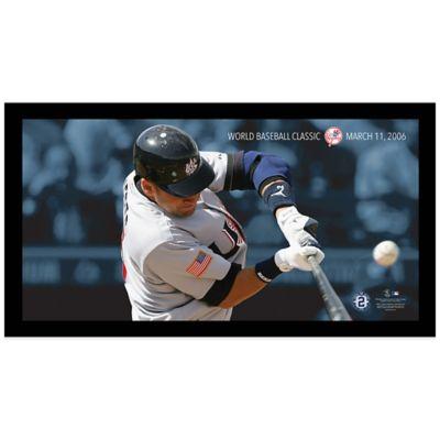 Steiner Derek Jeter Moments World Baseball Classic Mosaic Frame