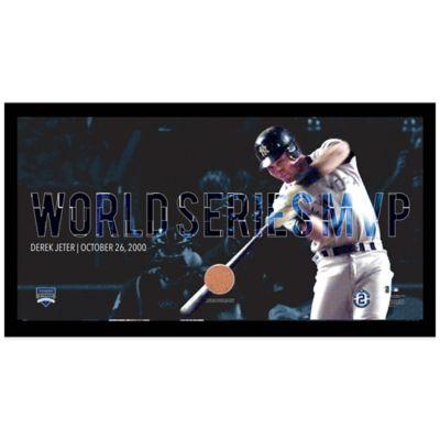 Steiner Derek Jeter Moments World Series MVP Mosaic Frame