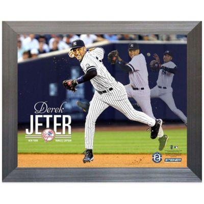 Steiner Derek Jeter Multi-Exposure Framed Collage