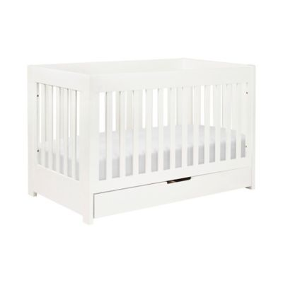 Convertible Crib in White