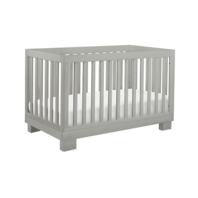Modo 3-in-1 Convertible Crib in Grey
