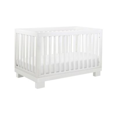 Modo 3-in-1 Convertible Crib in White